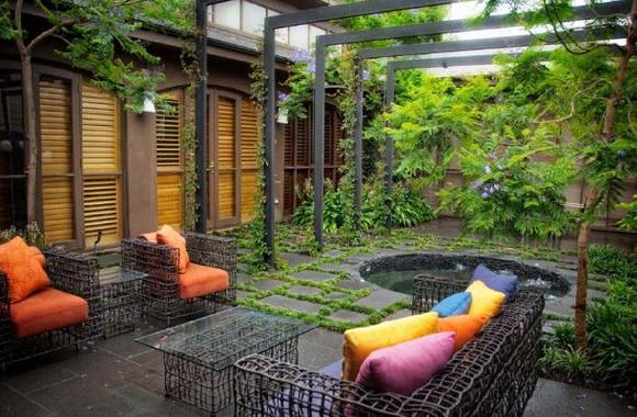 Kreativni Idei Za Ureduvanje Na Dvorot on Eckersley Garden Architecture Pool
