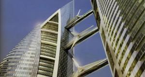 Светскиот трговски центар во Бахреин – прва зграда со ветерни турбини