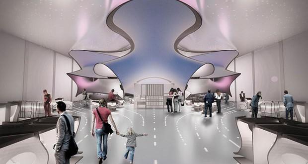 Заха Хадид со свој проект во лондонскиот Музеј за наука и технологија
