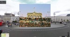 Берлинскиот ѕид на Google Street View