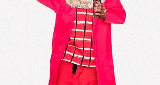 Дизајнерски стилизиран Дедо Мраз