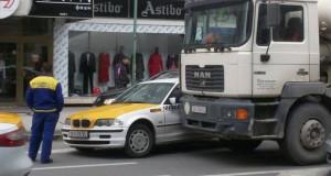 Од петок во Скопје забрана за движење на товарни моторни возила