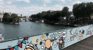 Pont des Arts – улична уметност наместо катанци