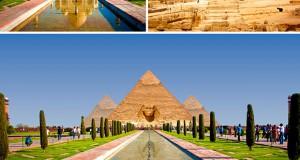 Имагинативни пејзажни фотографии од светски познати споменици