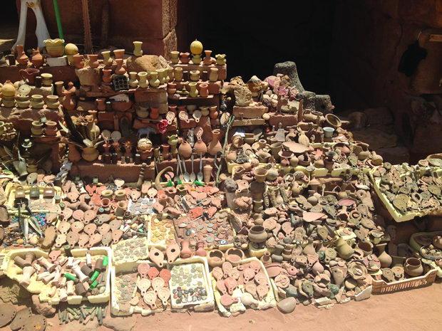 Improvizirana tezga na beduin