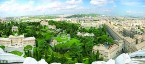 Пространите градини на Ватикан