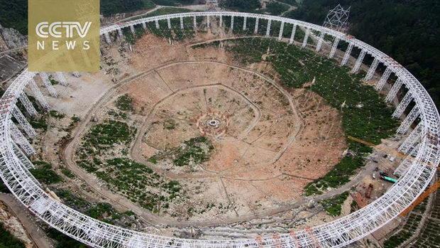 Megateleskop Kina1