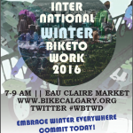 "Меѓународен ""Winter Bike to Work Day"""