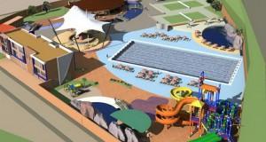 """СРЦ """"Брегалница"""" станува реалност: """"Аква ленд"""" околу градскиот базен"""