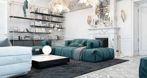 Екстравагантен и китнест луксузен дом во Париз