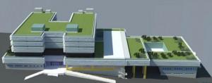 По два месеца од стартот, продолжува градењето на Клиничката болница во Штип