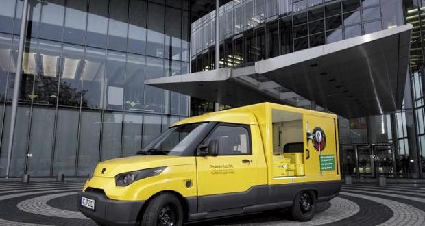 Електрични возила за германската пошта