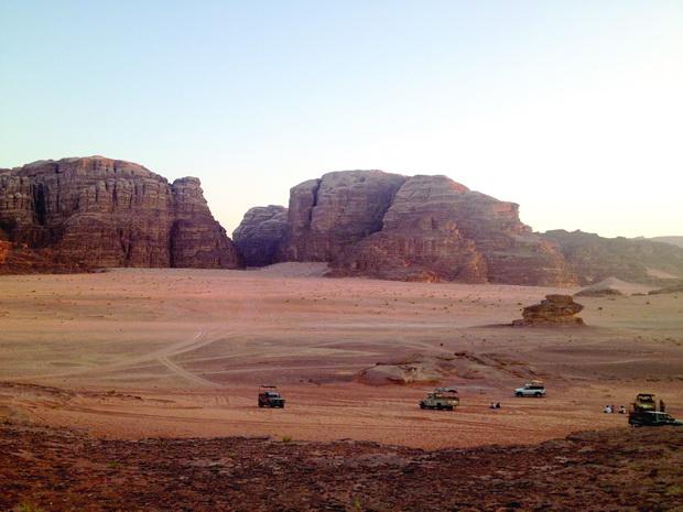 Marsovski pejzaz vo pustina