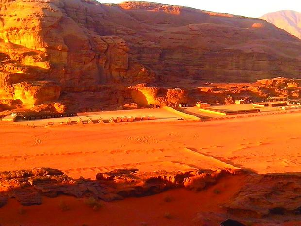 Turisticki pustinski kamp