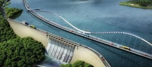 Во Хонг Конг се гради мост инспириран од опашка на змеј