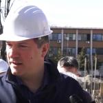Изградбата на новото училиште во полн ек