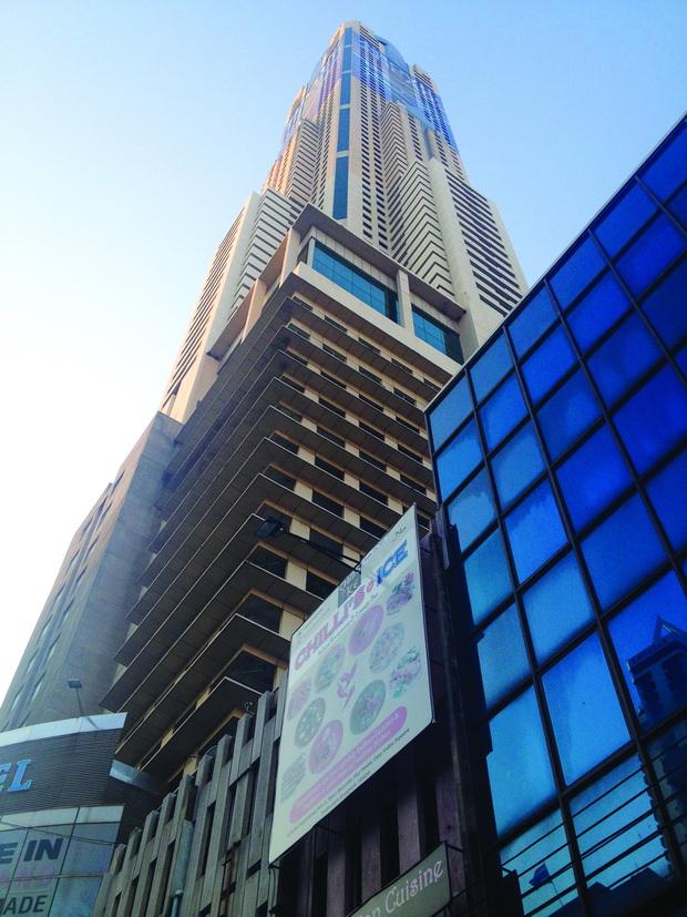 Бајоке - највисокиот хотел во Тајланд