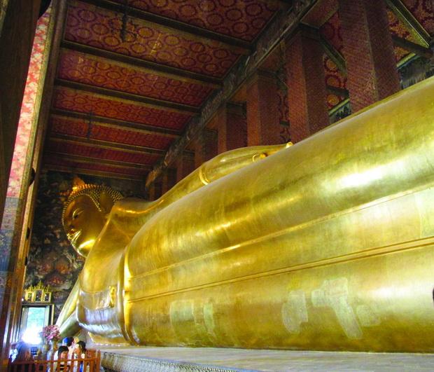 Hramot Wat Po - Hramot na lezeckiot Buda