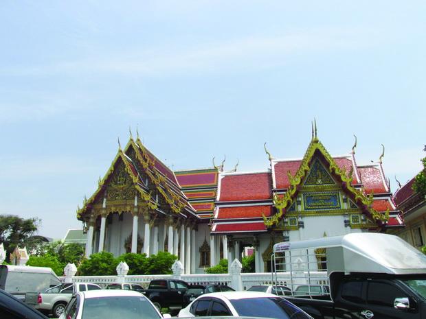 Hramot od mermer - Wat Benchamabophit 2