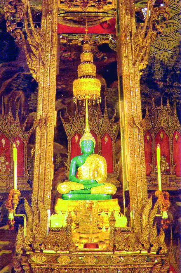 Smaragdniot Buda vo Hramot Wat Phra Kaew