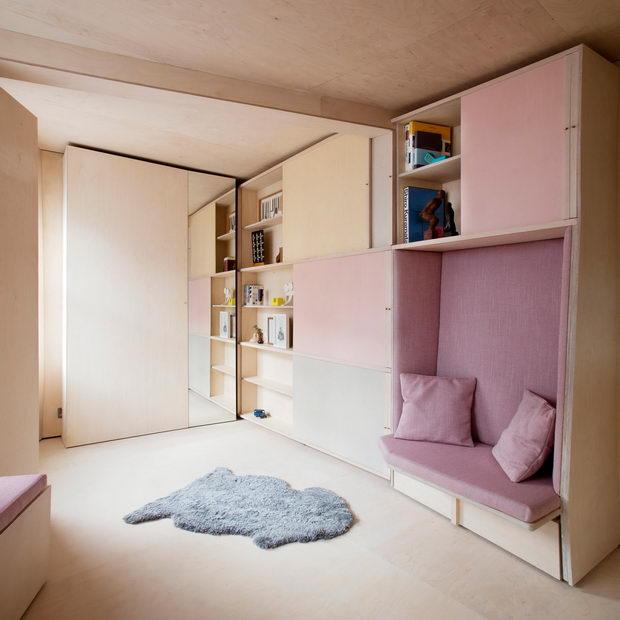 Dom za dvajca vo 13 kvadrati