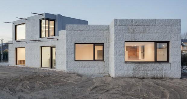 Генијална минималистичка резиденција од гранит