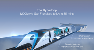 "Единаесет потенцијални рути за ""Hyperloop One"" во САД"