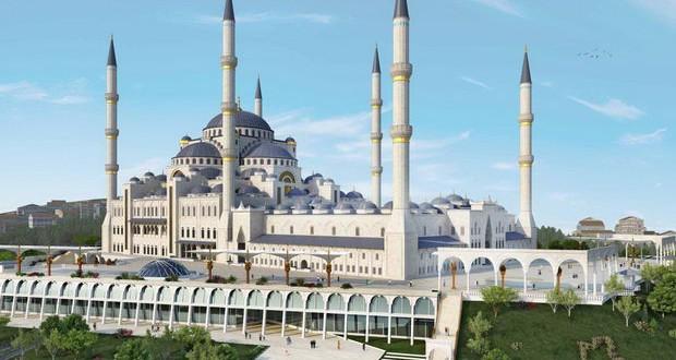 До крајот на 2017 ќе биде отворена најголемата џамија во Турција