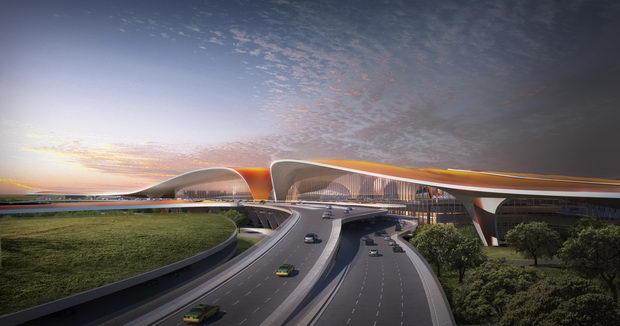 Peking aerodrom nov Zaha Hadid1