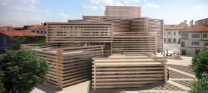 Кенго Кума ќе гради дрвен музеј во Турција