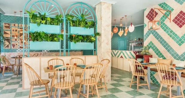 Ефектен ентериер на нов ресторан во Шпанија