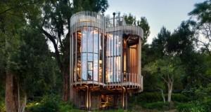 Спакуван луксуз во куќарка на дрво