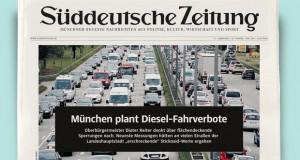По Штутгарт и Минхен планира да ги забрани дизел возилата