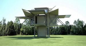 Монтажна куќа која сама се склопува за осум минути (Видео)