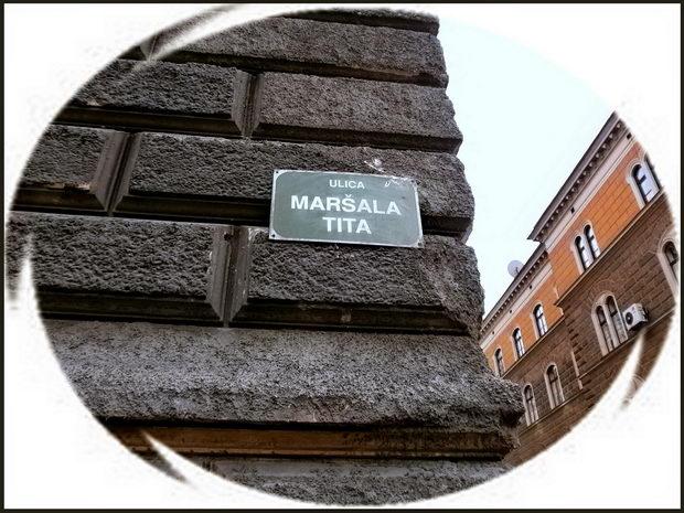 Saraevo - naziv ulica maršala Tita