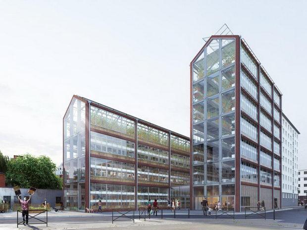 Urbano zemjodelstvo Pariz1