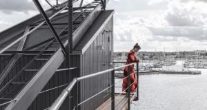 Индустриски кран во Копенхаген претворен во луксузно одморалиште