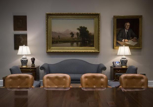 Ruzvelt soba portret
