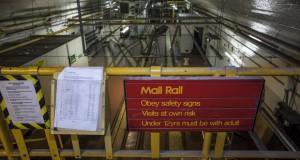 Обиколка низ подземната железница на Лондонската пошта