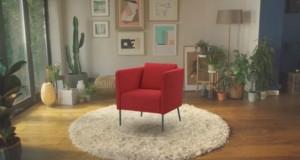 """На крајот од септември стигнува апликацијата на ИКЕА за виртуелно """"тестирање"""" на мебел"""