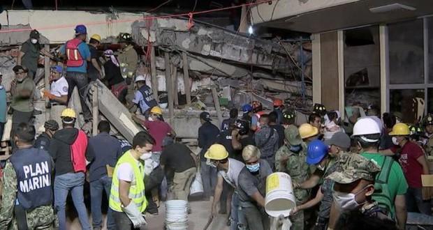Најмалку 250 загинати во силниот земјотрес во Мексико