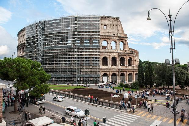 Colosseum Restoration Work To Begin