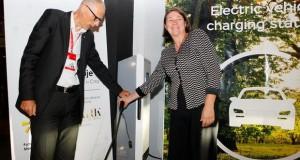 Прва станица за полнење на електрични возила во Македонија