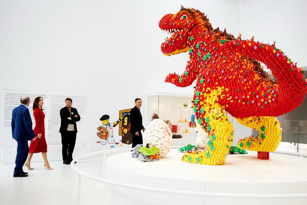 LEGO kukja izlozba