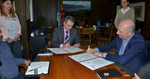 Потпишан меморандум за соработка меѓу Општина Охрид и Архитектонскиот факултет