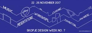 Седмо издание на Недела на дизајнот во Скопје
