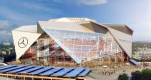 Mercedes – Benz  арената е првиот LEED Platinum сертифициран стадион во САД