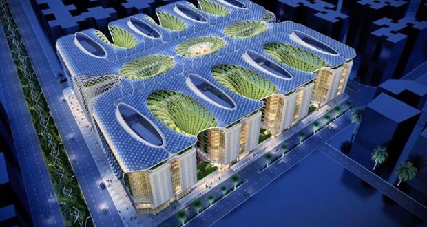 """Футуристички комплекс во Каиро со """"мегастебла"""""""