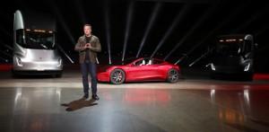 Претставен новиот Tesla Roadster – најбрзиот автомобил на светот