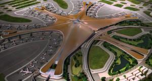 Погледнете ја конструкцијата на новиот аеродромски терминал во Пекинг